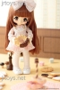 Azone x Kinoko Juice Hello KIKIPOP! Romantic Frill Sugar Caramel Brown