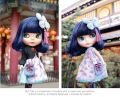 Takara Tomy CWC Shop Limited Neo Blythe Pretty Peony 1/6 Fashion Doll