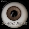 Glass Eye 16mm Vein Grey fits MSD DOT VOLKS LUTS Lati 1/4