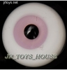 Glass Eye 12 mm Pink fits YOSD DOB VOLKS LUTS Lati 1/6