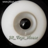 Glass Eye 12 mm Deep Grey fits YOSD DOB VOLKS LUTS Lati 1/6