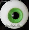 Glass Eye 12 mm Deep Green fits YOSD DOB VOLKS LUTS Lati 1/6